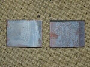 図切断した鋼