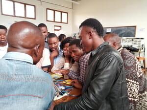 Class at Mbeya